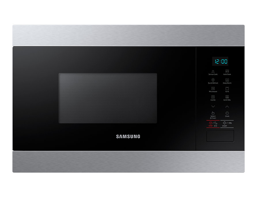 Kuchenka mikrofalowa do zabudowy z grillem SAMSUNG MG22M8074AT